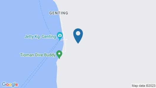 Aguna Resort Map