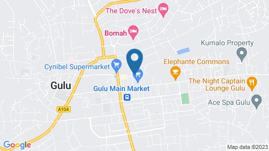 Jojo's Palace Annex Map