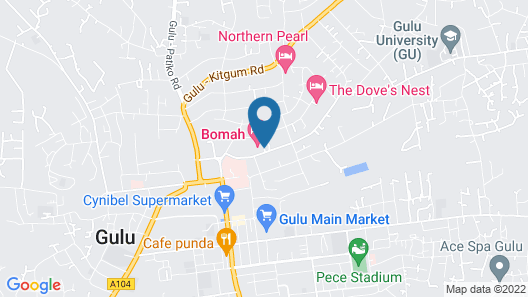 Bomah Hotel Limited Map