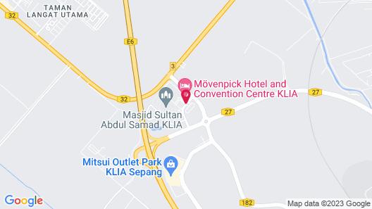 Movenpick Hotel & Convention Centre KLIA Map