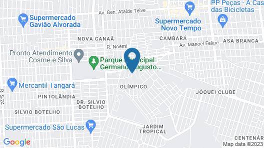 Apartamento Acesso Rápido Turismo Map