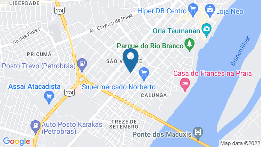 Hotel Canaã Map