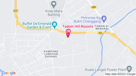 Tadom Hill Resorts Map