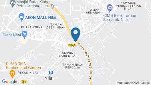 New Wave Hotel Nilai 1 Map