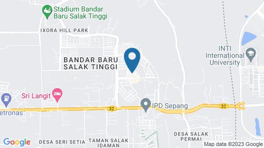 Empress Hotel Sepang Map