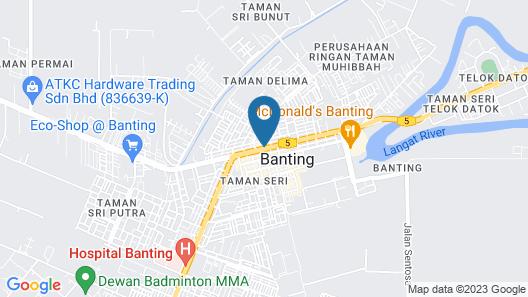 Bata Merah Boutique Hotel Map