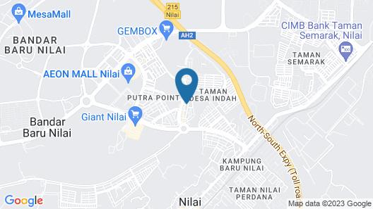 Aeton Hotel Map