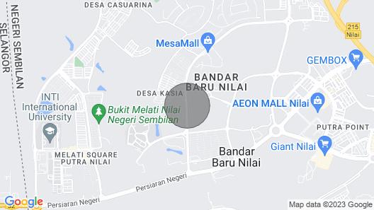 Mesamall Nilai Map