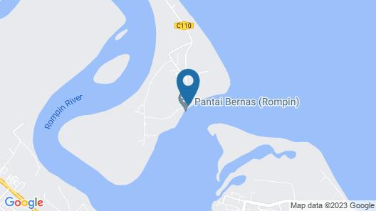 OYO 90015 Indah Chalet Map