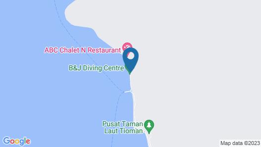 Tioman Dive Resort Map