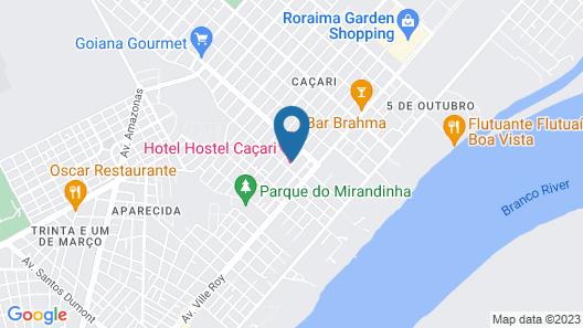 Hostel Caçari Map