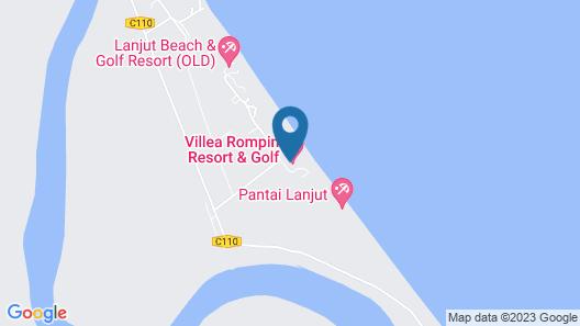 Lanjut Beach & Golf Resort Map