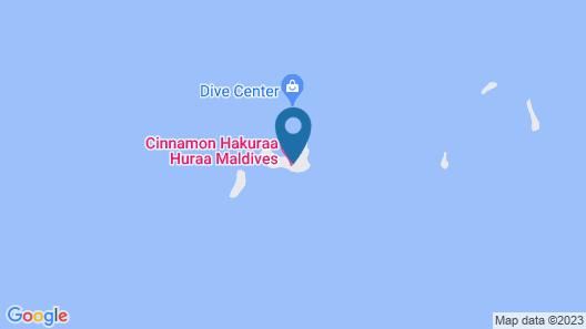 Cinnamon Hakuraa Huraa Maldives - All Inclusive Map