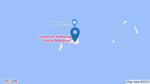 Cinnamon Hakuraa Huraa Maldives Map