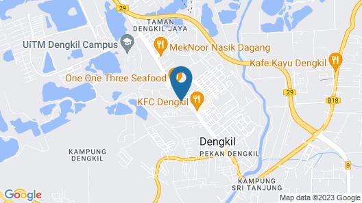 OYO 1094 Q One Hotel Dengkil Map