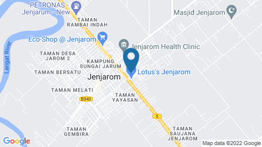 Jenjarom Boutique Hotel Map