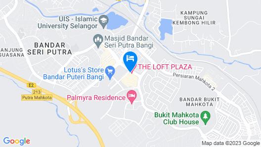 THE LOFT PLAZA HOTEL Map