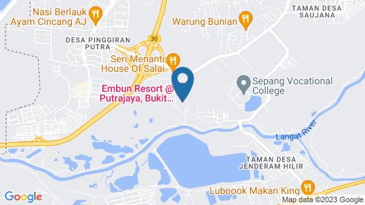 Embun Resort Putrajaya Map