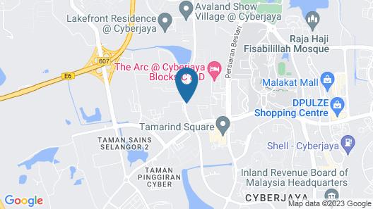 Fabulous Mutiara Ville Cyberjaya Map
