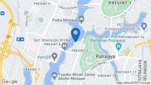 Zenith Putrajaya Map