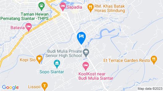 RedDoorz near RS Harapan Pematangsiantar Map