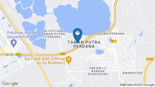 Taman Putra Perdana Apartment Map
