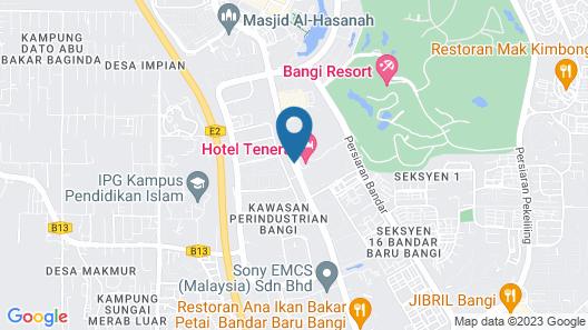 Hotel Tenera Map