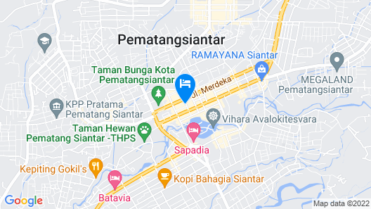 Hong Jaya Homestay - Hostel Map