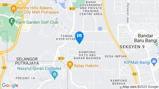 Villa 223 Map