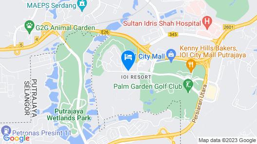 Putrajaya Marriott Hotel Map