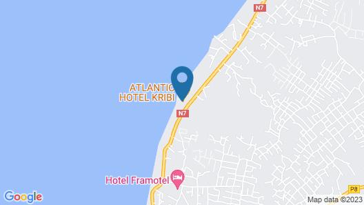 Atlantic Hotel Kribi Map