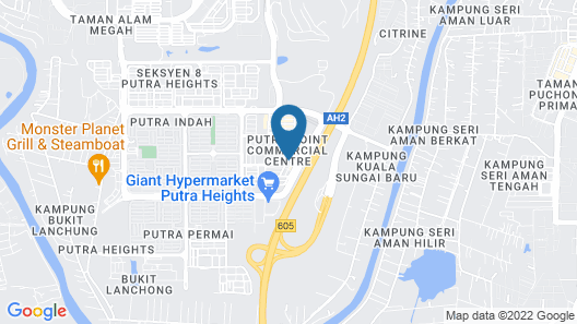 Putra Heights New Wave Hotel Map