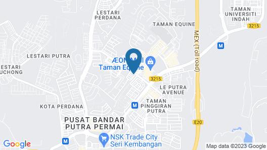 Sun Inns Hotel Equine Seri Kembangan Map