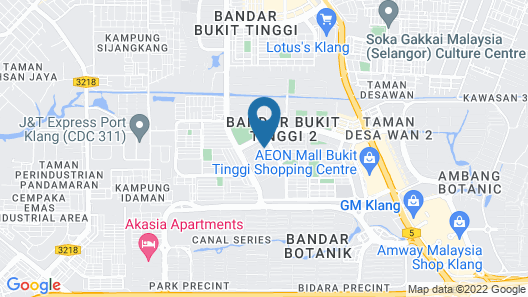 Smart Home Stay Map