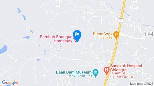 Bambuh Boutique Homestay Map