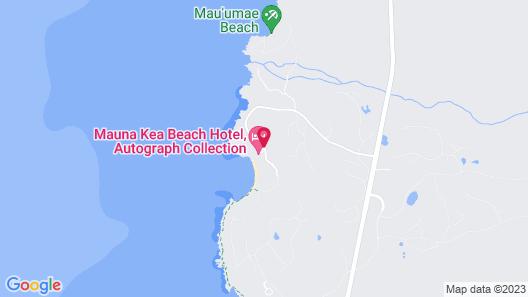 Mauna Kea Beach Hotel, Autograph Collection Map