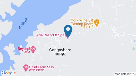 Aria Resort and Spa Map