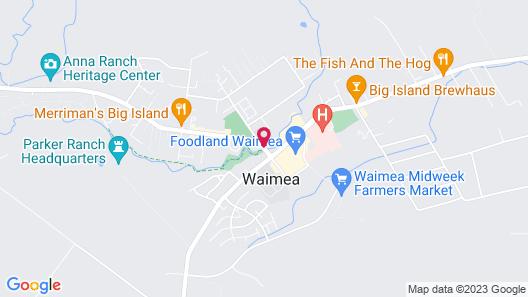 Castle Waimea Country Lodge Map