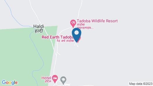 Red Earth Tadoba Map