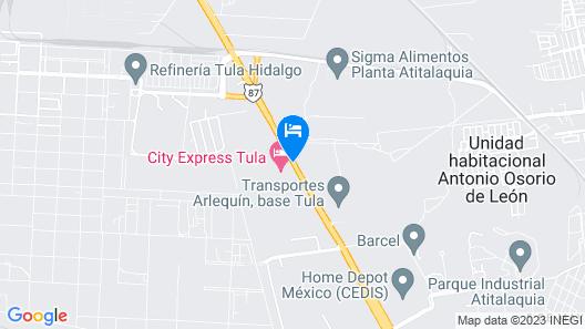 City Express Tula Map