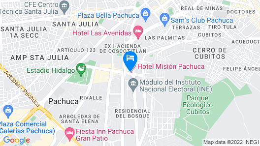 Mision Pachuca Map