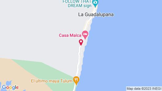 Gramercy Tulum Map