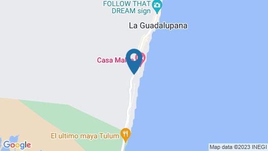 Casa Malca Map