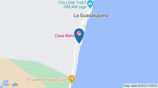 Chiringuito Tulum Map