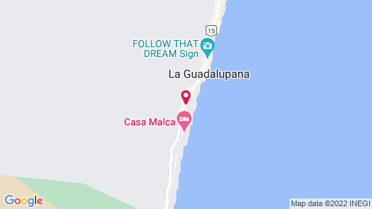 Be Tulum Beach & Spa Resort Map