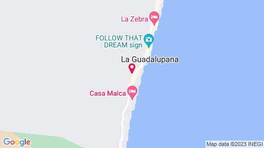 Casa Coyote Tulum Map