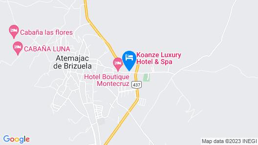 Koanze Luxury Hotel & Spa Map