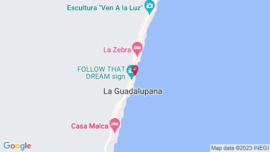 Hip Hotel Tulum Map