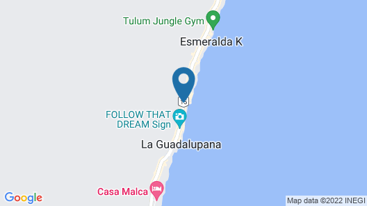 Alaya Tulum Map