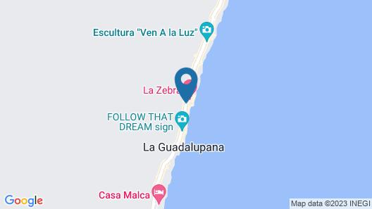Hun Tulum Map